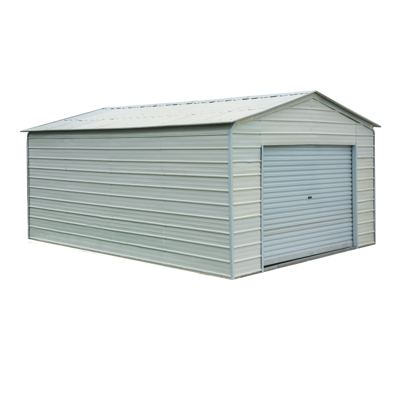 A-frame Garage With Boxed Eaves And Horizontal Roof Panels - Buy ...