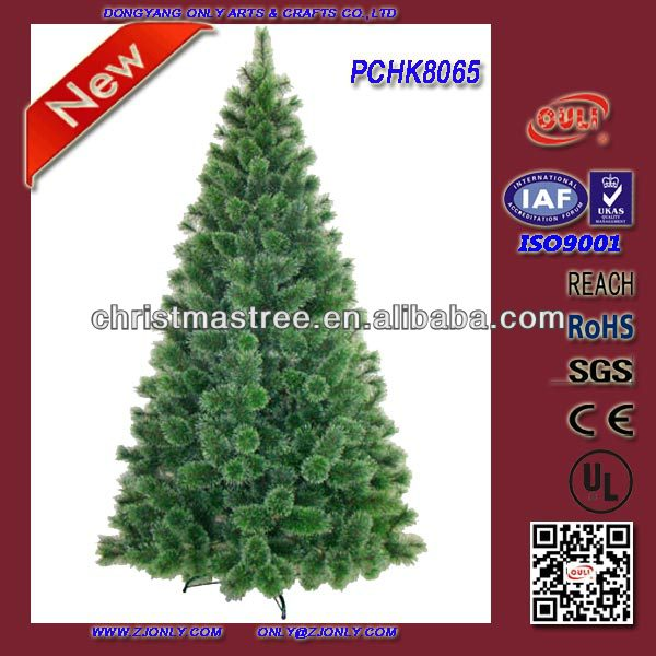 New Design Artificial Plastic Cone Christmas Tree