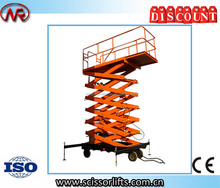 Scissor Electric Projector Lift with Remote control