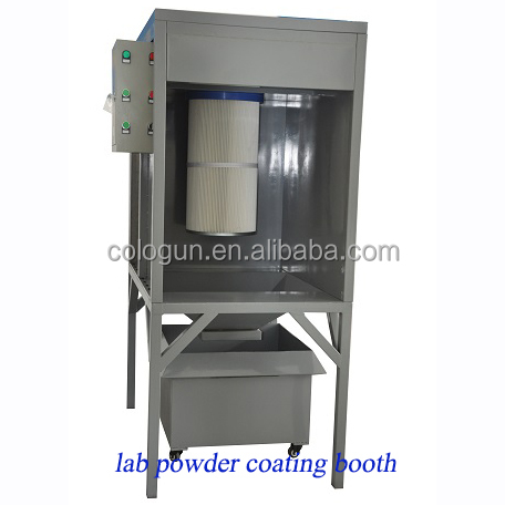 Electrostatic Powder Coating powder paint booth for Sale
