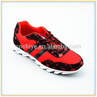 Wholesale new model soft sole breathable men sport shoes