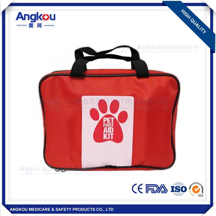 High quality pet first aid kit first aid kit factory price first aid kit CE FDA approved