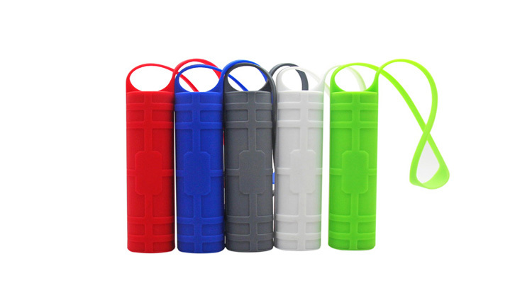 2200mah lipstick silicone power bank universal gift power bank for smartphones MOQ50pcs fast delivery factory directly offer