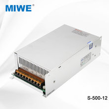 Single output dc to ac switching power supply 500W 12V 40A S-500-12