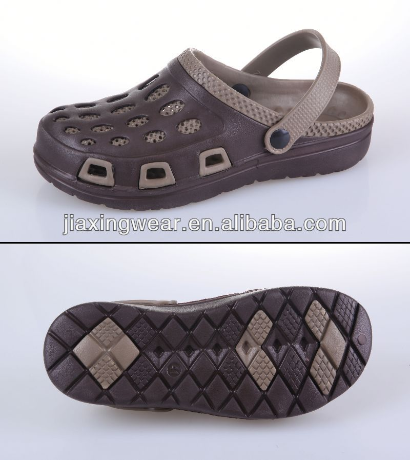 Injection anti clogs for beach and promotion,light and comforatable