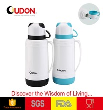 1L glass water jug set with food grade plastic cup