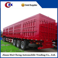 China brand 3 axles tipper trailer/100 ton dump trailer