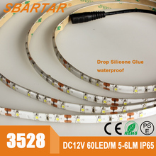 Sparta waterproof 12V SMD 3528 portable and flexible led light strips bar SMD3528 12V-3528-60D multi-colors