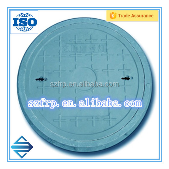 Fiberglass FRP SMC manhole lid for sale
