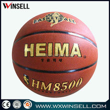 promotion item in bulk bottom price rubber basketball size 6