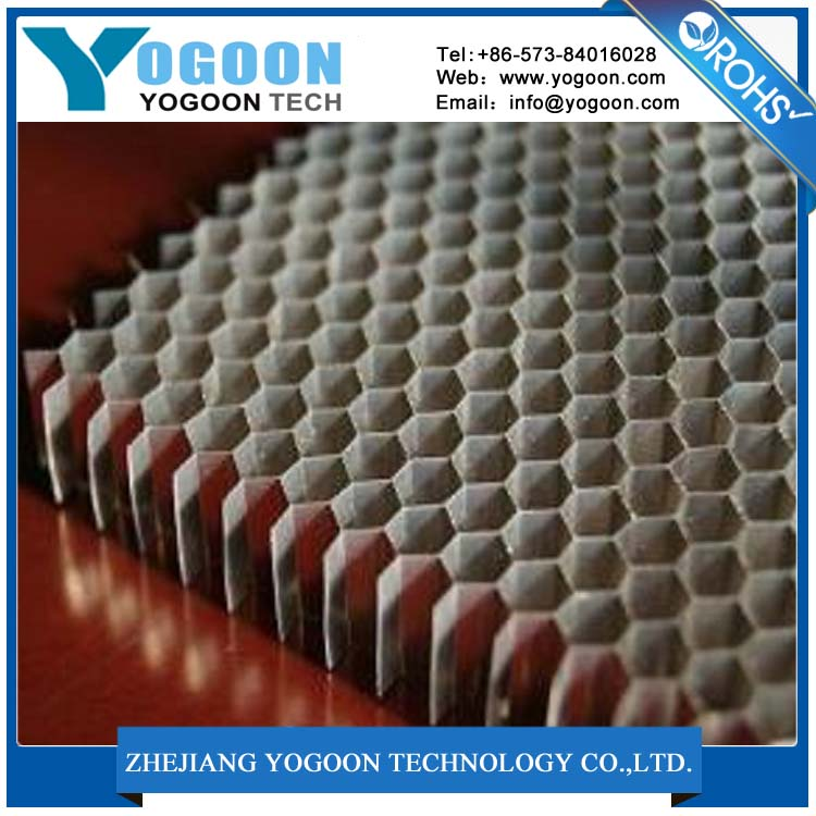 honeycomb composite material m... used in aeroplane and carriage