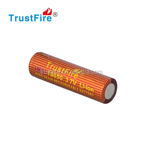 Trustfire original factory 7C 14A e cig 2000mAh 3.7v rechargeable imr 18650 battery