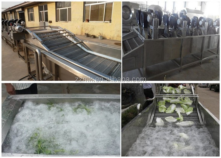 Water bubble washing machine Industrial vegetable and fruit washing machine