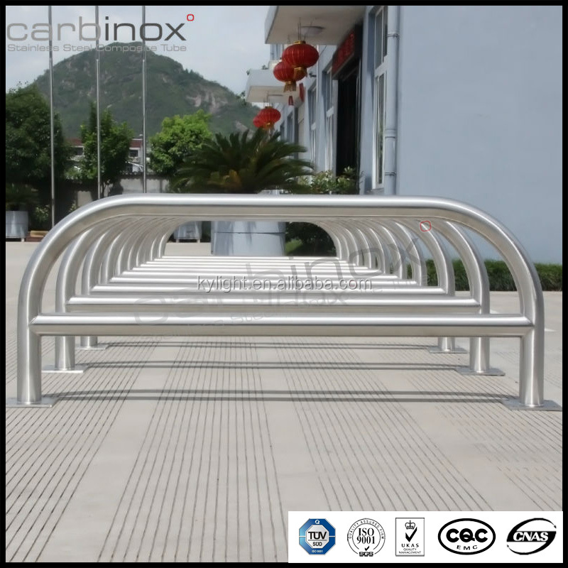 stainless steel U-shape pipe guard,U-guard rail,