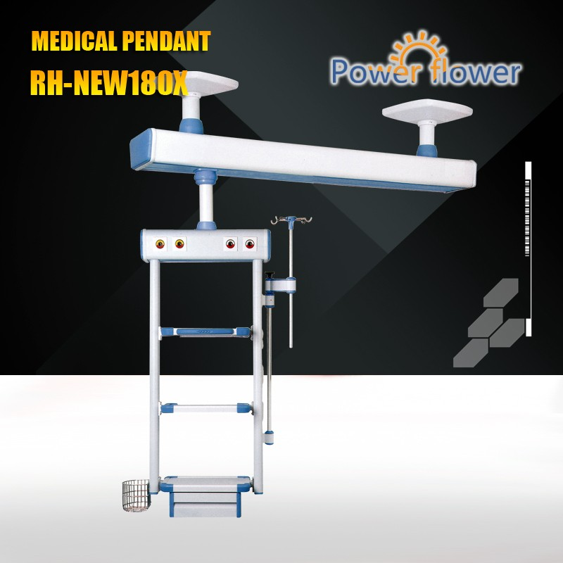 Meidcal Pendant from CE,FDA,ISO 13485 certificates approved factory:RH-NEW180X ICUceiling bridge medical pendant