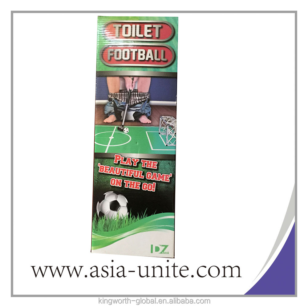 Toilet Game Soccer Restroom Football Game Toilet Toys Potty Putter Bathroom Football