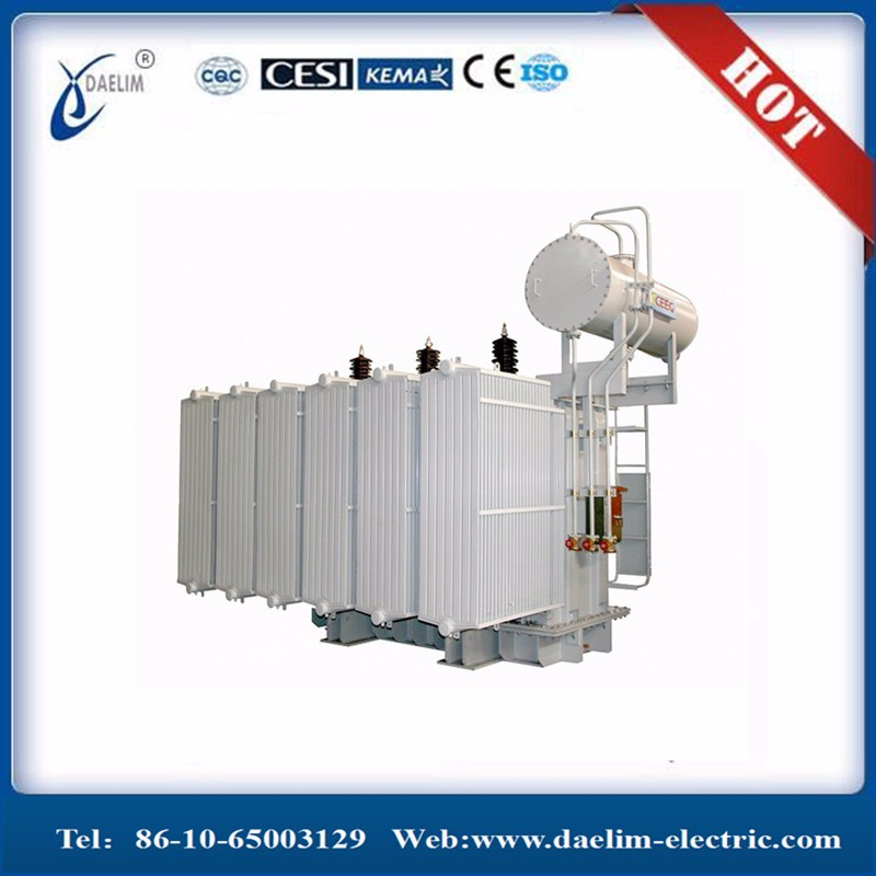 Best Quality Three Phase 5MVA Electric 11KV 33KV Power transformer With Weigh