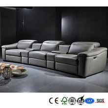 Best selling leather artistic sectional sofa
