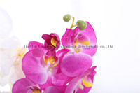 Artificial silk single butterfly orchid flower