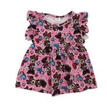 Wholesale Children Clothes Smocked Toddler Clothing Baby Girls Puffy Dresses For Kids
