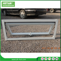 China Supplier PVC/UPVC Awning Window/Top Hung Window Goldern Casement Window Operator