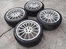 USED 18' Alfa Romeo GT 147 156 159 GTA GTV V6 SRS 5X110 18 Wheel Rims Italy Very RARE