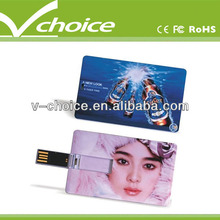 promotion gift 32gb custom usb credit card