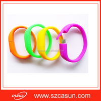 Limited Edition Customized logo Promotional Gifts Usb Flash Drives Bracelet Pvc Usb