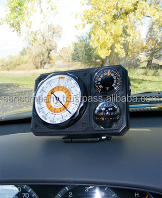 Navigat'r 6 vehicle altimeter/barometer/compass/thermometer/LED light/mirror #211
