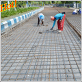 Steel reinforcing (reo) welded mesh for constructing