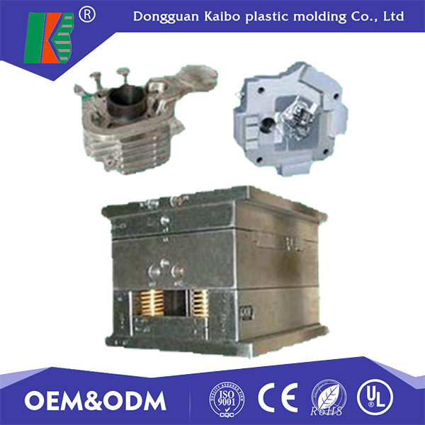 High precision aluminum die cast mould parts Zinc alloy die casting mould