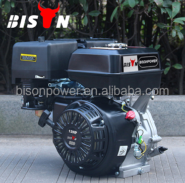 BISON(CHINA) Machinery Gasoline Single Cylinder Electric Start Engine
