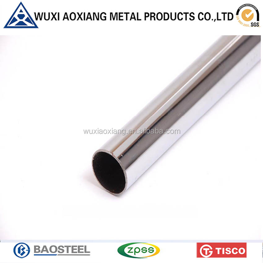 Taiwan Online Shopping Cold Rolled AISI Stainless Steel Pipe 201 2mm Made In China