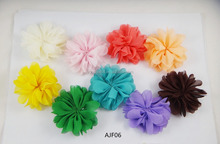 Various Style Fashion Soft Artificial Fabric Flowers For Garment Hair Decoration Flowers Diy Bag Shoe Flower Accessories