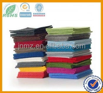 Hot sale Color 100% Polyester felt /Needle wool felt 3mm for craft/diy felt