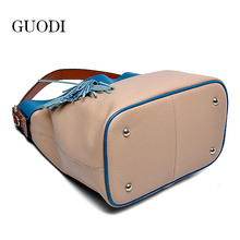 2015 new design women pure leather handbags for Christmas