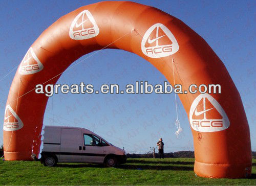 Inflatable Arch Finish Arch, Start Arch In Your Logo Printings
