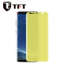 For Samsung S8/S8 plus, Factory price 3D Full cover soft waterproof TPU screen protector