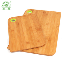 2017 new custom bamboo wood color coding cutting board for kitchen