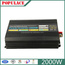 Populace high quality pure sine wave inverter 2000w power inverter 48v dc