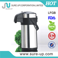 Wide mouth 1.9 liters pump pot with pp handle (ASUE)