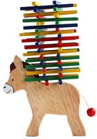 Wooden educational toys for kids wooden balance pony toy
