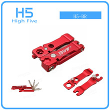 Wholesale 19 PCS Multi Bicycle Repair Tool Screwdrivers Kit Wrench Set With T25 Spanner Tyre Lever for bicycle repair