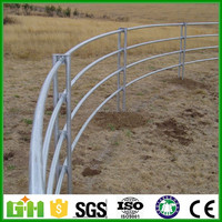 Trade Assurance square tube/round pipe corral panels/galvanized horse fencing
