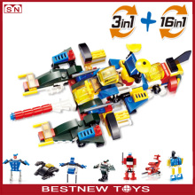 16 In 1 Plastic Building Blocks Toys Enlighten Brick Toys For Kids