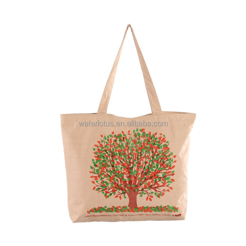 The new simple grace fashion environmental protection weave canvas bags
