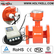 Holykell Cheap Price Digital Modbus water milk electromagnetic flowmeter