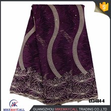 2018 new arrivals african french net lace for aso obi width 51-52inch party