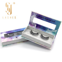 Best world beauty lashes false charming 3d mink eyelashes with private label box