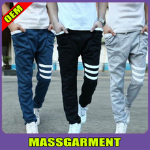 Fashion New Mens Sports Cotton Pants Baggy Sweat Pants Trousers